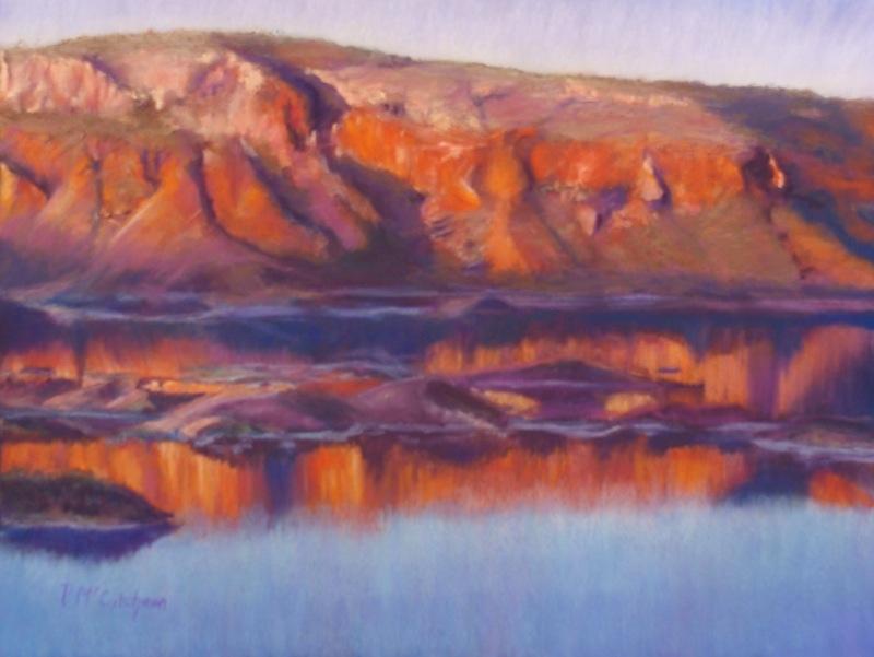 Sunset, Lake Argyle