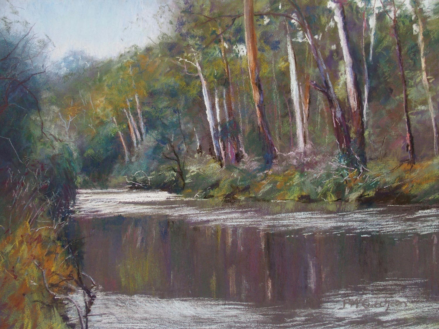 Warrandyte, Early Morning