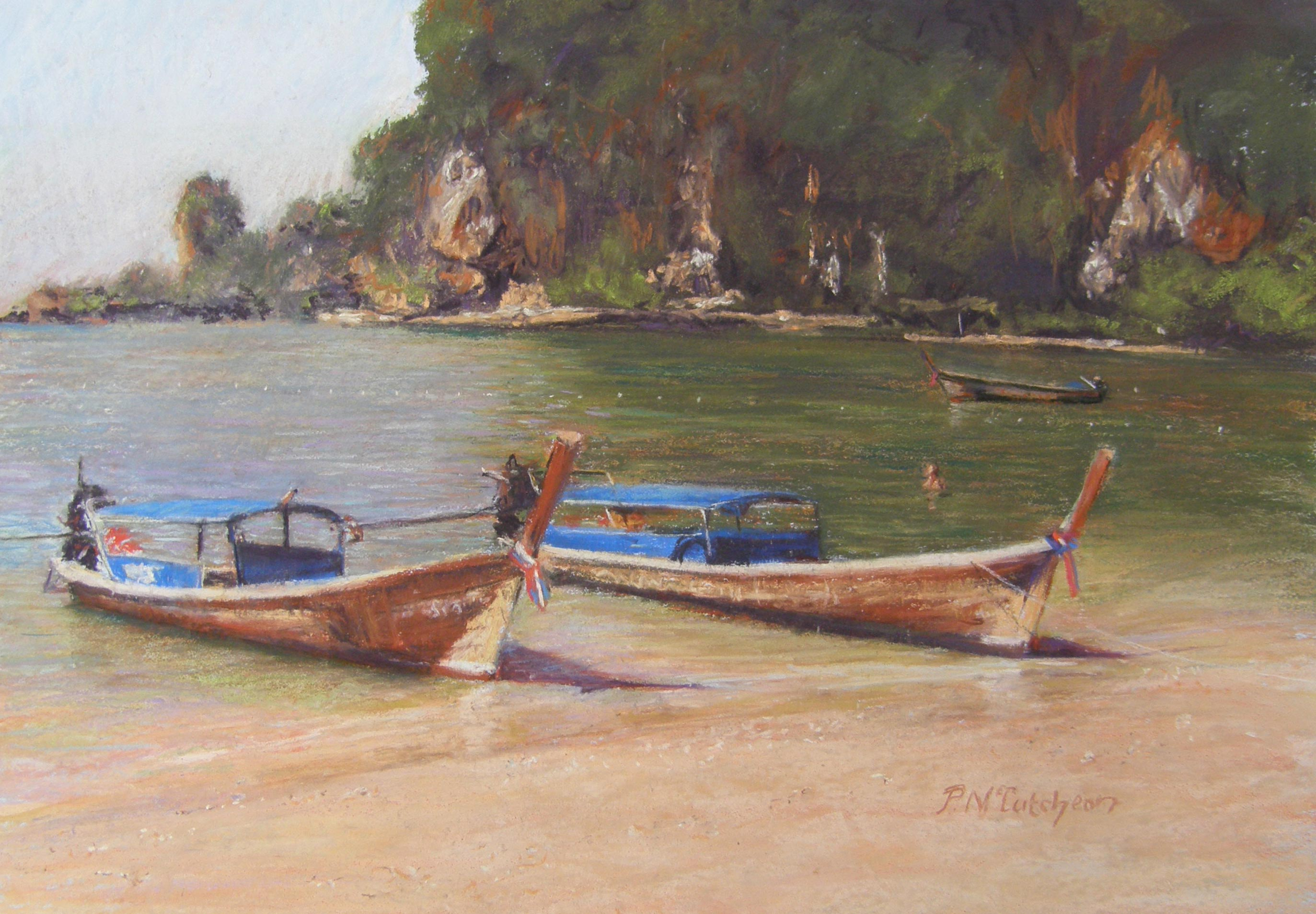 Longtail boats ,Thailand