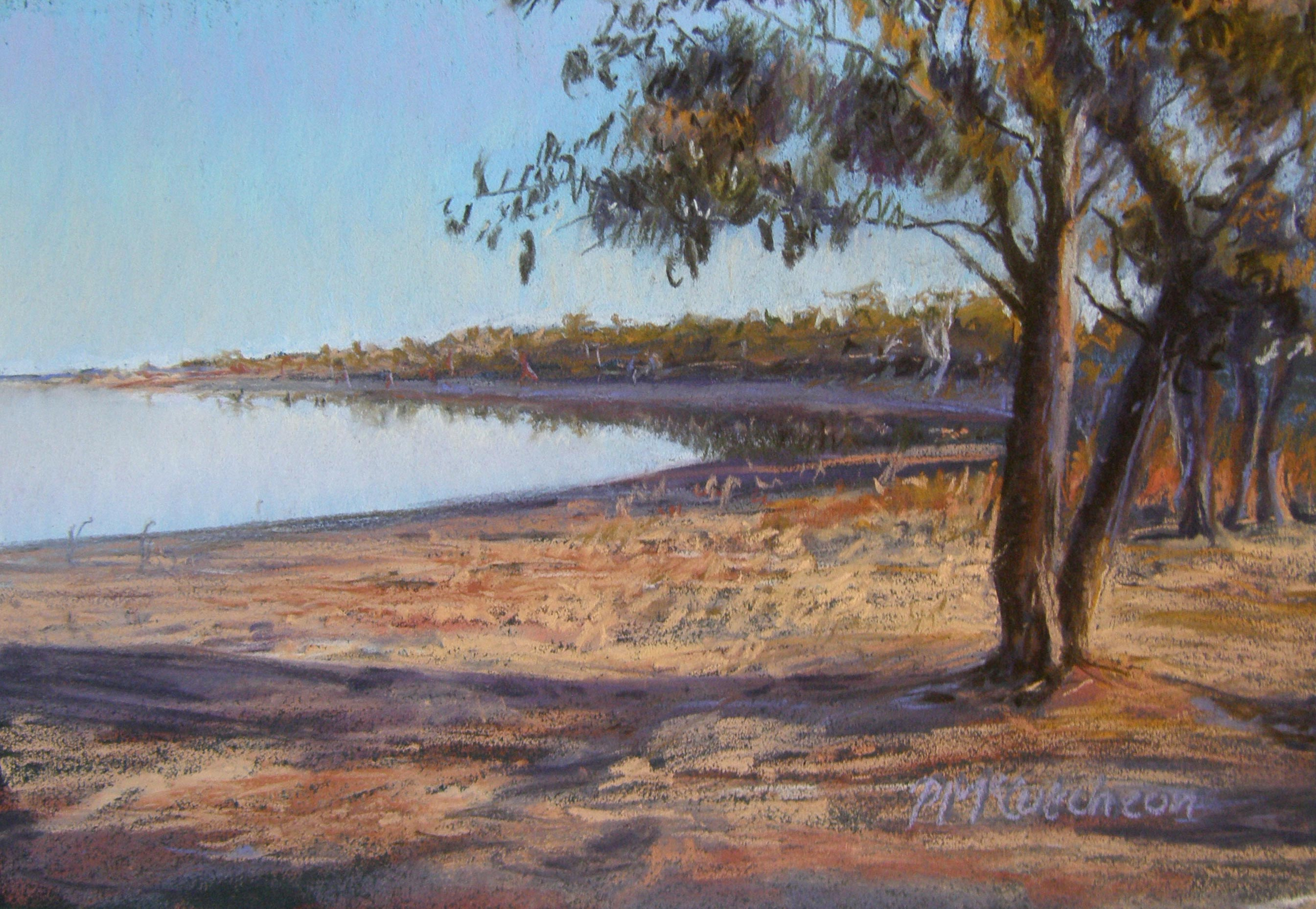 Evening ,Browns' Lake, Donald