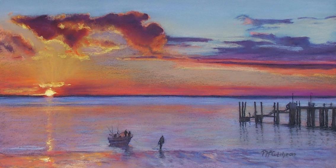 Sunset,Fraser Island